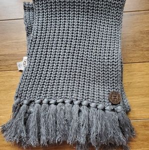 UGG Australia knit scarf GREY